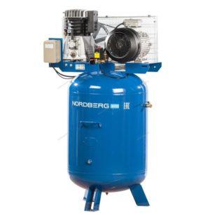 Компрессор поршневой с ременным приводом вертикальный 300 литров, 810 л/мин