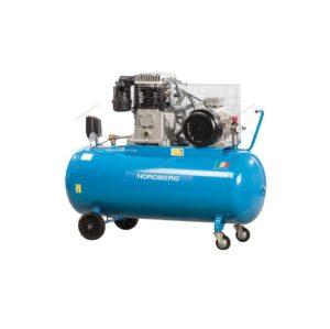 Компрессор поршневой с ременным приводом 270 литров, 650 л/мин