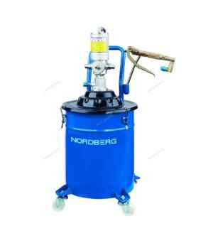 Установка пневматическая для раздачи густой смазки с баком 20 литров